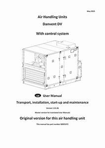 Air Handling Units Danvent Dv With Control System