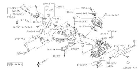 Subaru 2 5xt Engine Diagram by 22627aa350 Genuine Subaru Sensor Assy Press