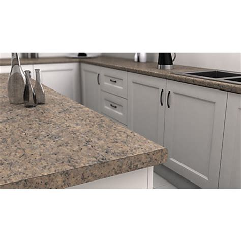 venice granite effect laminate worktop mm  homebase