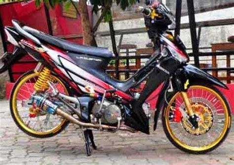 Jok Motor Ceper by Modifikasi Motor Supra X 125 Ceper Modifikasi Motor Bebek