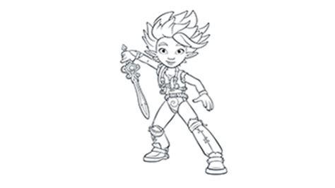 coloriages arthur  les minimoys heros tiji