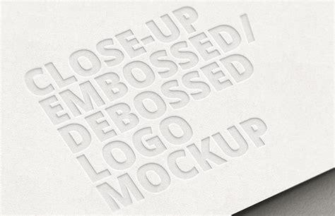 Close-up Embossed Debossed Logo Mockup Loan Officer Business Card Ideas Janitorial Gamer Holder In The Hoop Examples With Linkedin Profile Owner Sample For Restaurant Realtors