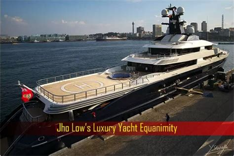 Yacht Jho Low by Crooked Minds Think Alike What Do Jho Low And Kola Aluko