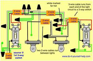 How To Wire A 3 Way Switch With Multiple Lights