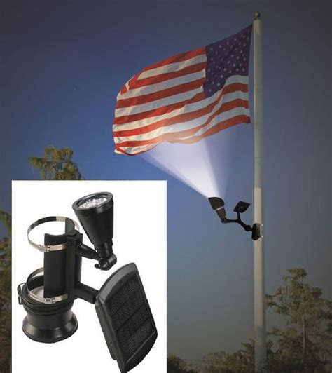 flag pole light rv flag poles designs options and ideas
