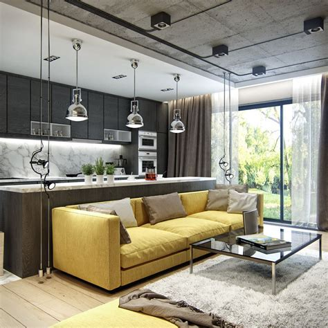 3 Inspiring Homes With Concrete Ceilings And Wood Floors 3 inspiring homes with concrete ceilings and wood floors