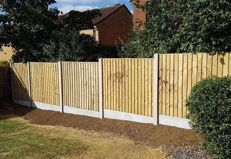 Intermediate Concrete Fence Posts - Milton Keynes