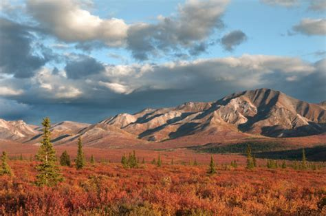 places   fall foliage  alaska