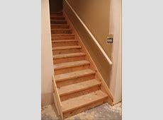 Wood Basement Stairs Design Useful Basement Stairs