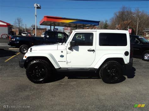 white jeep jeep sahara white with black rims html autos post