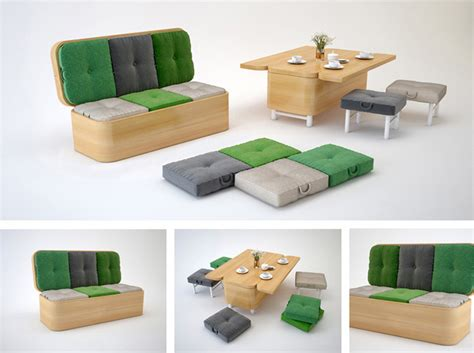 Convertible Sofa Table by Convertible Sofa Easily Transformed Into A Small Dining Table