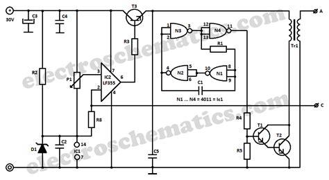 High Voltage Converter Circuit
