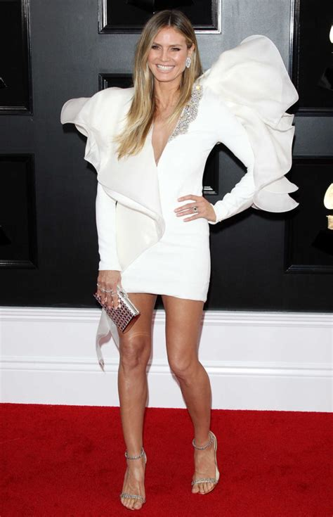 Heidi Klum Attends The Annual Grammy Awards
