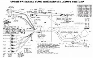 Curtis Plow Side 2 Plug Wiring Kit Sno