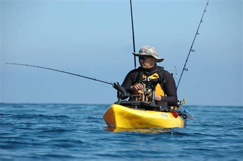 kayak paddling fishing kitting outdoorhub