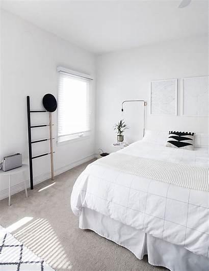 Scandinavian Bedroom Minimal Bed Minimalist Nordic Decor