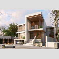 Exterior Design Of Residential Villa  Almorabaco On Behance