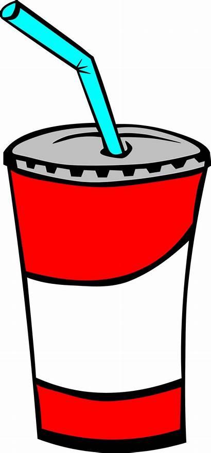 Soda Drinks Fast Fountain Clip Domain Publicdomainfiles