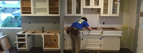 kitchen cabinet installation guide how to install cabinets new leaf cabinets counters 5512