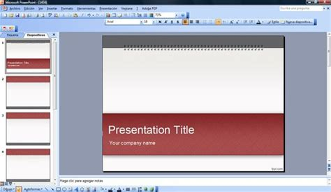 edit powerpoint template