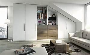 Alle Sitzmöbel In Einem Raum : mit einem schrank unterm dach raum gewinnen ~ Bigdaddyawards.com Haus und Dekorationen