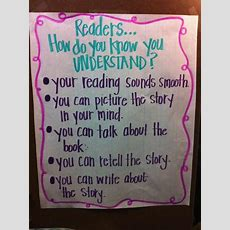 Comprehension New Lesson Next Week!!  Anchor Charts  Pinterest  Charts, Anchors And
