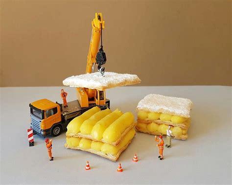 ce p 226 tissier italien cr 233 e des mondes miniatures avec des desserts