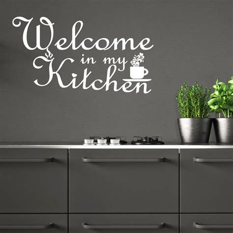 stickers citations cuisine sticker citation cuisine welcome in my kitchen stickers