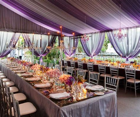 amazing ideas for gorgeous wedding tents