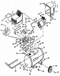 Craftsman 919155611 Air Compressor Parts