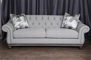 tufted grey sofa canada wwwenergywardennet With tufted sectional sofa canada