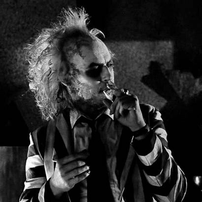 Beetlejuice Smoking