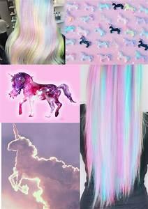 unicorn aesthetic on
