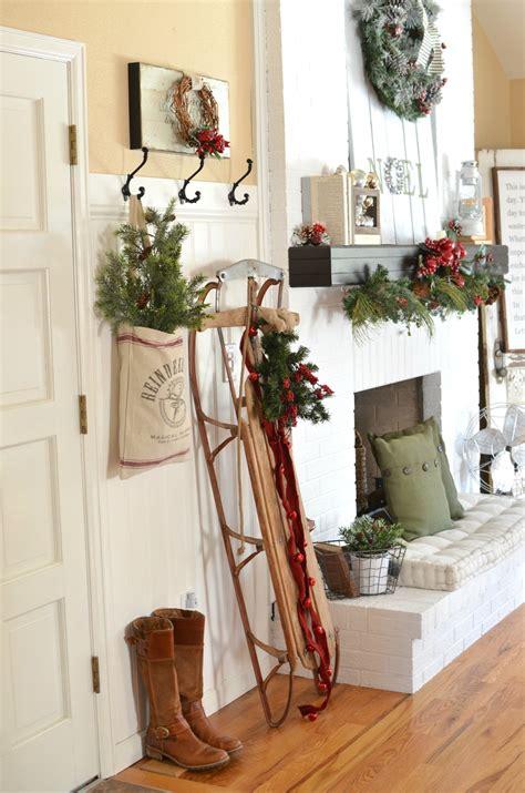 a vintage entryway farmhouse decor entryway and decor
