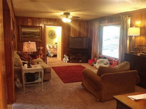 power  paint amazing wood paneling makeover