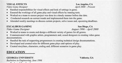 21526 exle of an resume designer resume sle resumecompanion
