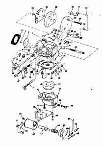 Evinrude Carburetor Parts For 1972 25hp 25202r Outboard Motor