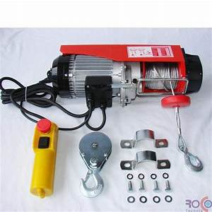 Palan Electrique 220v : palan 800 treuil electrique 220v 400 800 kg ~ Edinachiropracticcenter.com Idées de Décoration