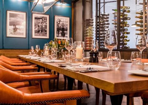 luxury private dining rooms at tom s kitchen birmingham