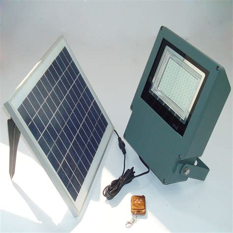remote smd led solar flood light