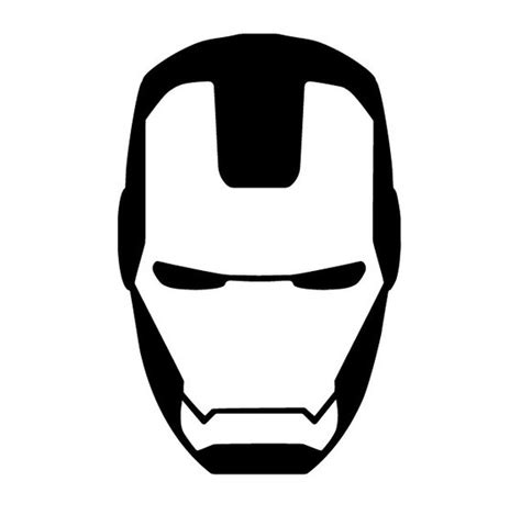 iron mask template ironman mask decal ironman yeti cup decal ironman by inkndecals