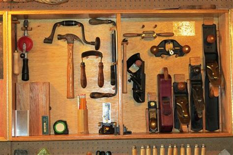 hanging tools on wall bill s wall hanging tool cabinet the wood whisperer 4145