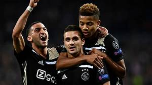 Real Madrid 1-4 Ajax: European champions knocked out in ...  Ajax