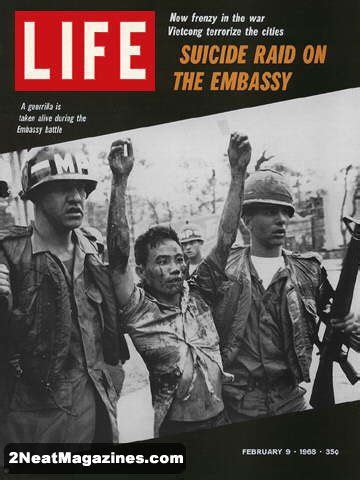 sale life magazine february   vietcong