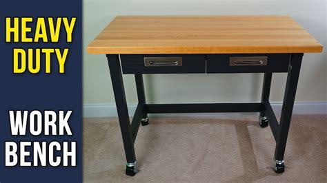seville classics ultragraphite wood top workbench