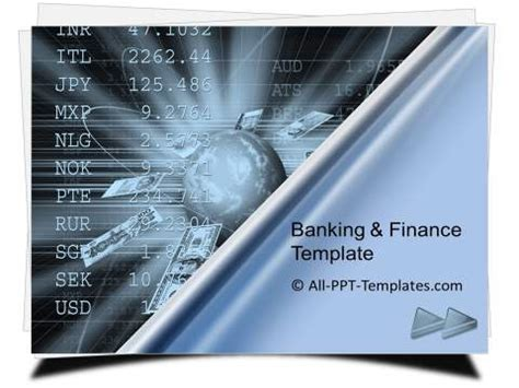 finance powerpoint template powerpoint banking and finance template sets