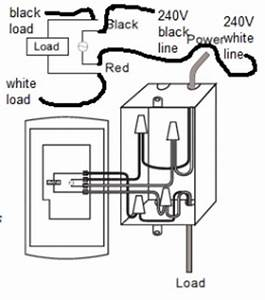 single pole vs double pole thermostat electrical diy With honeywell thermostat wiring diagram 2 pole gfci breaker wiring diagram