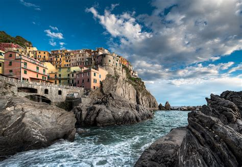 Images Cart Beautiful Vernazza Italy