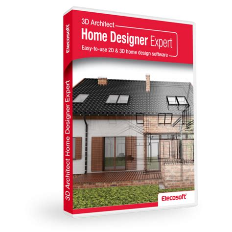 3d Home Design Software List by 3d Architect Home Designer Expert Software Elecosoft