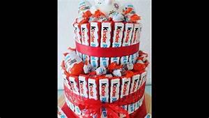DIY Kinderriegel Geschenk Torte / Kreative Geschenk Idee